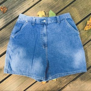 Vtg 90's High Waisted Jean Shorts